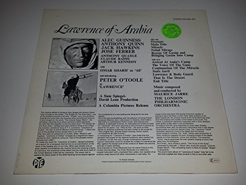 Lawrence of Arabia - Original Soundtrack Recording by Colpix Records (Image #3)