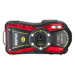 PENTAX Water Proof Digital Camera PENTAX WG-10 Red 1cmMacro Macro Stand PENTAX WG-10RD