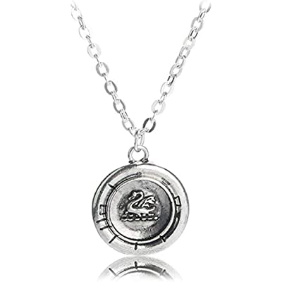 "Once Upon a Time EMMA SWAN Talisman 5/8"" PENDANT: Clothing"