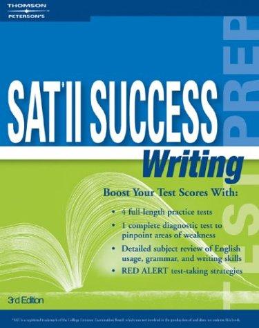 SAT II Success Writing, 3rd ed (Peterson's SAT II Success Writing)