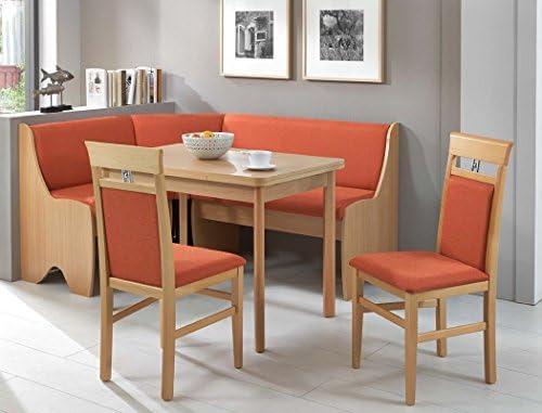 Rinconera de grupo Zuria haya claro 2 x silla mesa rinconera de ...