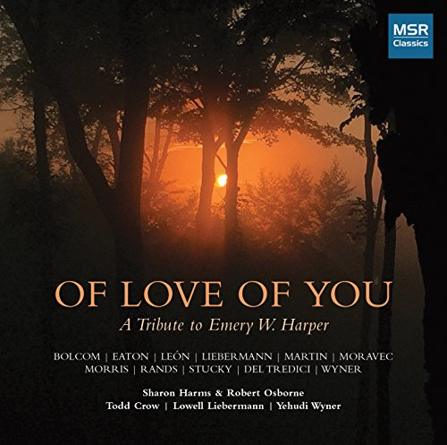 Of Sweet Of You: A Tribute To Emery W. Harper - New Music for Soprano, Bass-Baritone and Piano