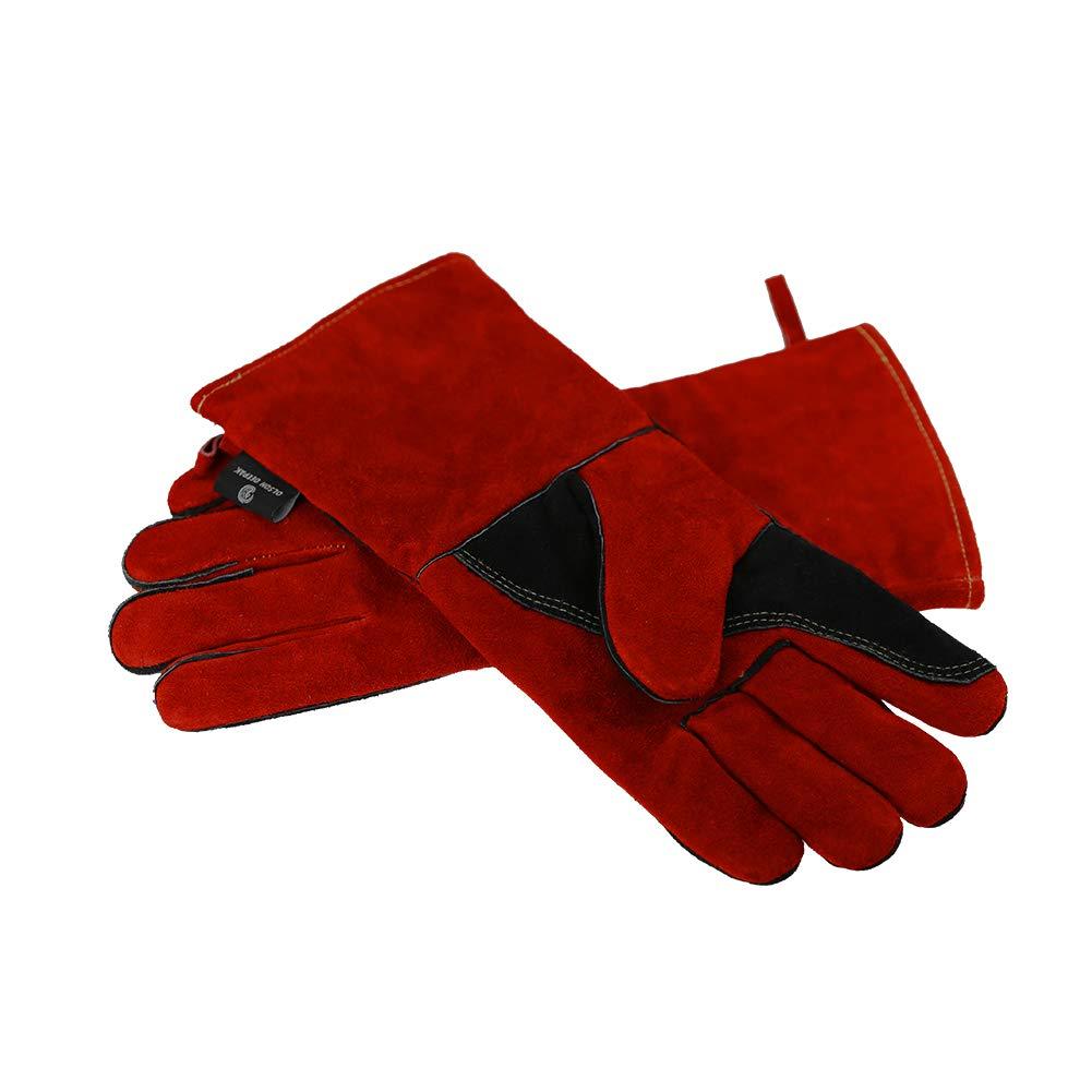 Premium NoCry Heavy Duty Heat Resistant  Flame Retardant Welding  BBQ Gloves