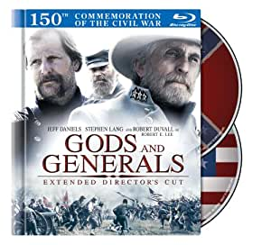 Gods and Generals (Two-Disc Extended Director's Cut in Blu-ray Book Packaging)