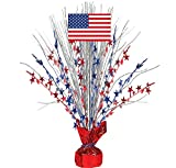 Patriotic Party Spray Centerpiece, 18""