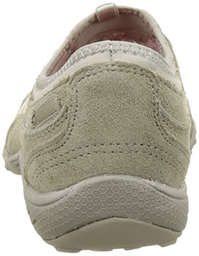 Damen Respirer-facile Moneybags Chaussures De Sport, Skechers Taupe
