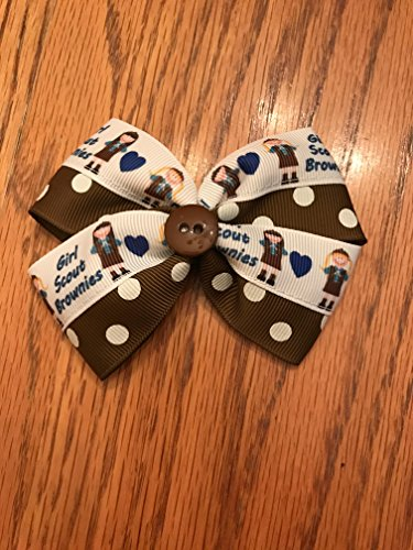 Scout Brownie - Adorable Handmade Girl's