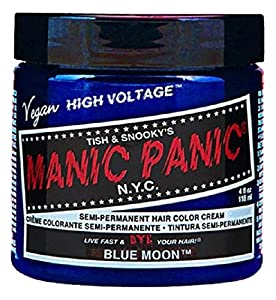 Manic Panic Moon Semi-Permanent Color Cream, Blue