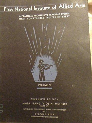Maia Bang Violin Method, Part 3A