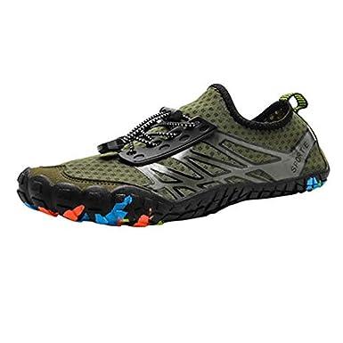 Amazon.com: Xinantime Water Shoes Men Women Barefoot Quick ...