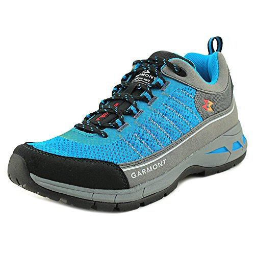Garmont Nagevi Vented Hiking Shoe - Women (Steel/Turquoise, 9 US)