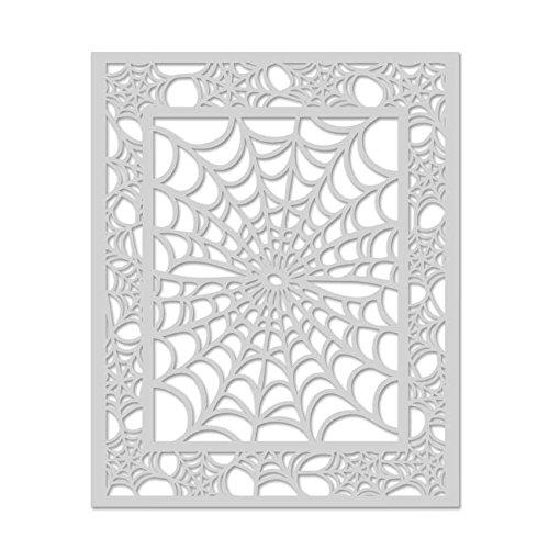 Hero Arts SA081 Spider Web Stencil