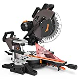 TACKLIFE Sliding Compound Miter Saw 12-Inch, 1700W, 3800rpm,...