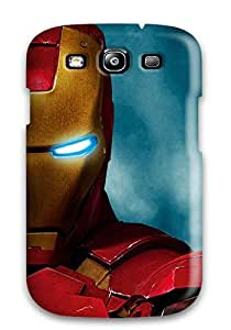 Top Quality Case Cover For Galaxy S3 Case With Nice Amazing Iron Man 2 Appearance