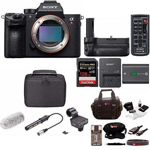 Sony Alpha a7RIII Mirrorless Digital Camera with 128GB Accessory Bundle