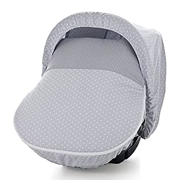 Piccolandy Good Night - Saco para maxi cosí con capota, color gris: Amazon.es: Bebé