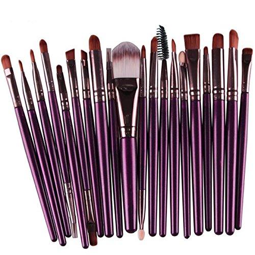 Makeup Brush Set,Han Shi 2017 Fashion 20 pcs 20pcs Make up Brushes Kits Toiletry Kit Clearance (M, (Laura Mercier Eyelash)