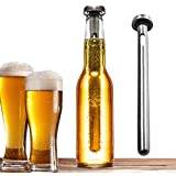 Winxer Beer Chiller Stick - Stainless Steel Bottle Chill Rod - Best Portable Beverage Wine Instant Cooling Sticks - Set of 2