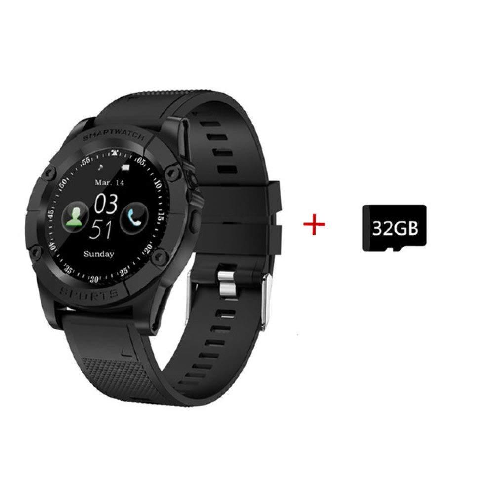 ZHAOHAONB Reloj Inteligente Smart Watch Redondo Teléfono Hombres ...