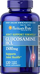 Puritan\'s Pride Glucosamine 1500 mg-120 Caplets