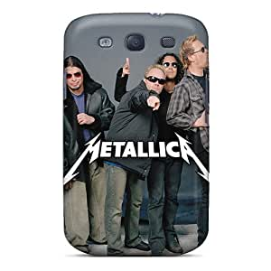 Protector Cell-phone Hard Covers For Samsung Galaxy S3 (eRr9766yoUM) Allow Personal Design Nice Metallica Image