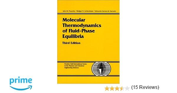 Molecular thermodynamics of fluid phase equilibria 3rd edition molecular thermodynamics of fluid phase equilibria 3rd edition john m prausnitz rudiger n lichtenthaler edmundo gomes de azevedo 9780139777455 fandeluxe Images