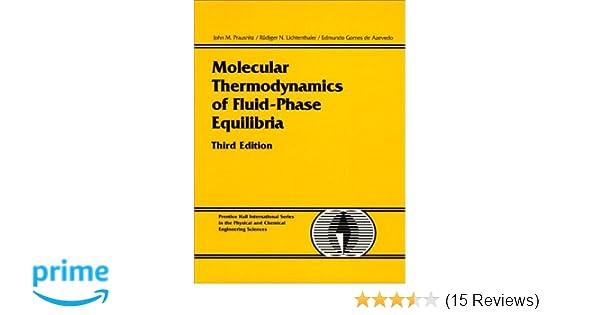 Molecular thermodynamics of fluid phase equilibria 3rd edition molecular thermodynamics of fluid phase equilibria 3rd edition john m prausnitz rudiger n lichtenthaler edmundo gomes de azevedo 9780139777455 fandeluxe Choice Image