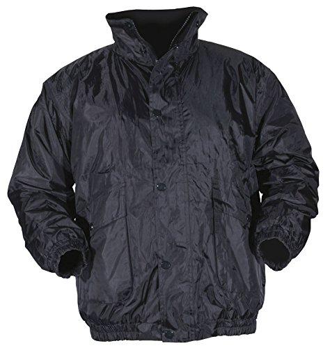 Blackrock Men's Uniform Bomber Jacket - Black, X-Large