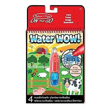 Melissa & Doug Water Wow Malblock - Malen mit Wasser - Bauernhof ...