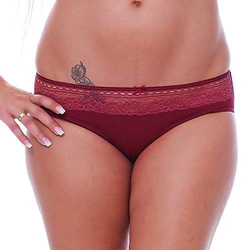 Schöller - Bikini - Básico - para mujer Granat / Dunkelrot
