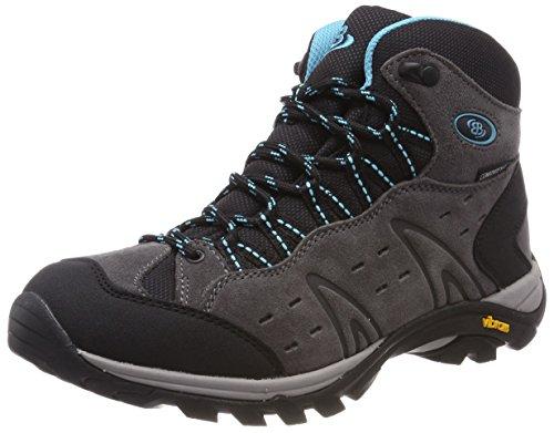 Bruetting WoMen Mount Bona High Rise Hiking Shoes Grey (Grau/T