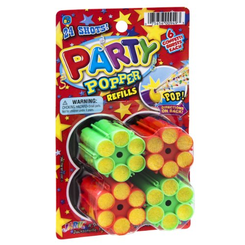 Why Choose Ja-Ru Party Popper Confetti Refills- 4 CT