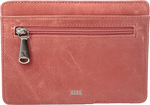 hobo-womens-leather-vintage-euro-slide-card-holder-wallet-coral