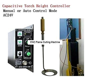 CNC máquina de corte de llama Cap THC linterna Altura Controller AC24 V Manual o automático modo de control: Amazon.es: Bricolaje y herramientas