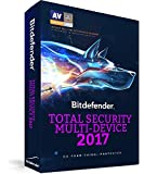 Bitdefender Total Security 2017 3 PCs, 1 year [Download Licence Key Only] Sent by email [License] Windows, Mac, Android