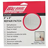 Walboard Tool 54-006 6-Inch X 6-Inch Drywall Repair Patch