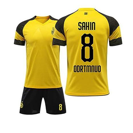 HEIPIYAYAYAYA Camiseta de fútbol Borussia Dortmund 2018-2019 Home ...