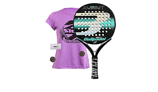 Bullpadel K3 Woman 2019 Palas, Mujer, Negro, 360: Amazon.es ...