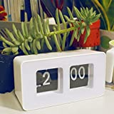 Fencia Auto Flip Clock Desk Clock Digital Battery