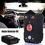 HOT SALE! V8 360 Degree 16 Band Scanning LED Radar Detector Car...