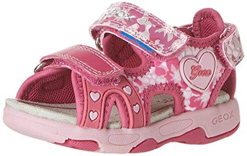 Geox B Sandal Multy Girl 2-K, Fuchsia/Pink, 22 EU(6.5 M US Toddler)
