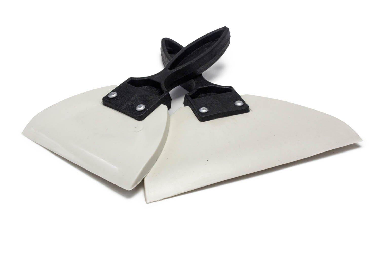 Antec Gummispachtel | Spachtel aus Gummi | 85mm und 125mm im Set | Konturen Spatel | Fugenspachtel