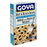 Goya Rice & Black Beans, 8-Ounce Boxes (Pack of 24)