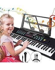 Tencoz Electronic Keyboard Piano 61 Key, Portable Piano Keyboard for Kids