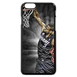 Onelee(TM) - Customized Black Hard Plastic iPhone 6 Case, NBA Superstar Miami Heat Dwyane Wade iPhone 6 Case, Only Fit iPhone 6 Case wangjiang maoyi