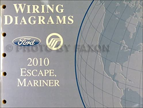 2010 ford escape and mercury mariner wiring diagram manual original Mercury Mariner Outboard Wiring Diagram 2010 ford escape and mercury mariner wiring diagram manual original ford amazon com books