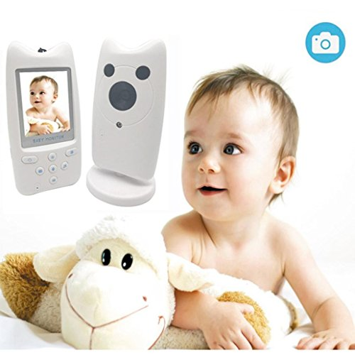 (2.4GHz 2.4inch Wireless Digital LCD Color Baby Monitor Audio Video Night Vision Camera)