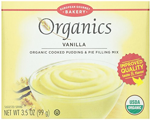Dr. Oetker, Organic Vanilla Pudding And Pie Mix, 3.5 Ounce