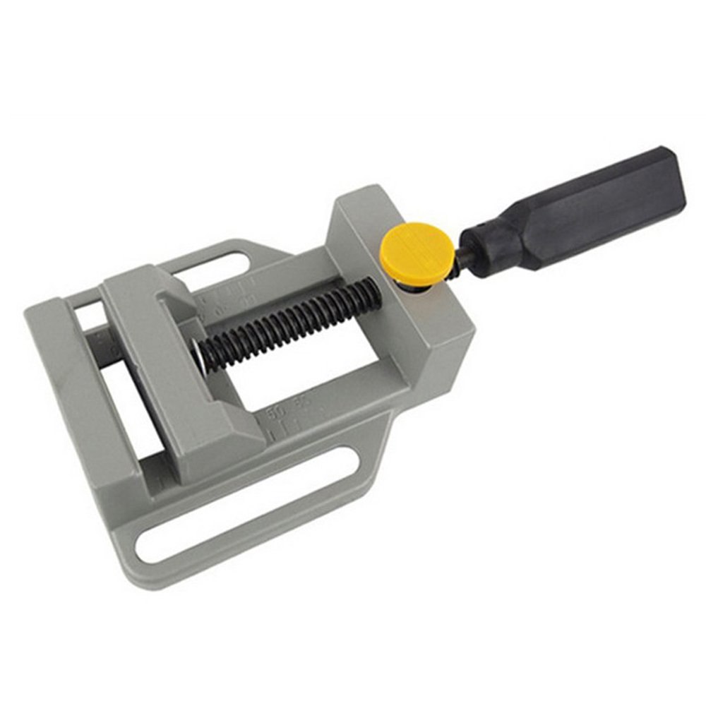 SODIAL Aluminum Mini Flat Clamp for Drill Stand Handle Engraving Workbench DIY Tool Milling Machine Manual Clamps Woodworking Bench