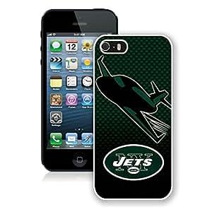 DIY Custom Phone Case For iPhone 5S New York Jets 001 White Phone Case For iPhone 5 5s Cover Case